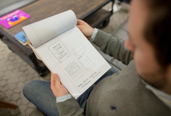 reviewing diagrams
